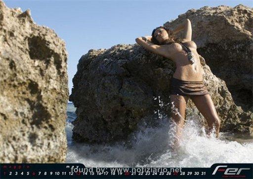 Calendario Belen Rodriguez.Belen Rodriguez Il Calendario 2007 2008