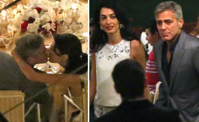 George-Clooney-la-fidanzata-Amal-Alamuddin-bacio-e-incinta-sul-lago-di-Como-prima-delle-nozze-e1407946647325